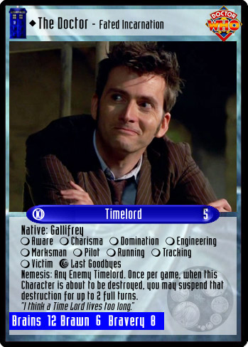 Dr Who 10 Doctor