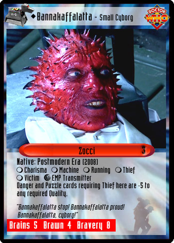 Unauthorized Dr. Who CCG - Bannakaffalatta - Small Cyborg Pictures Of Corrections